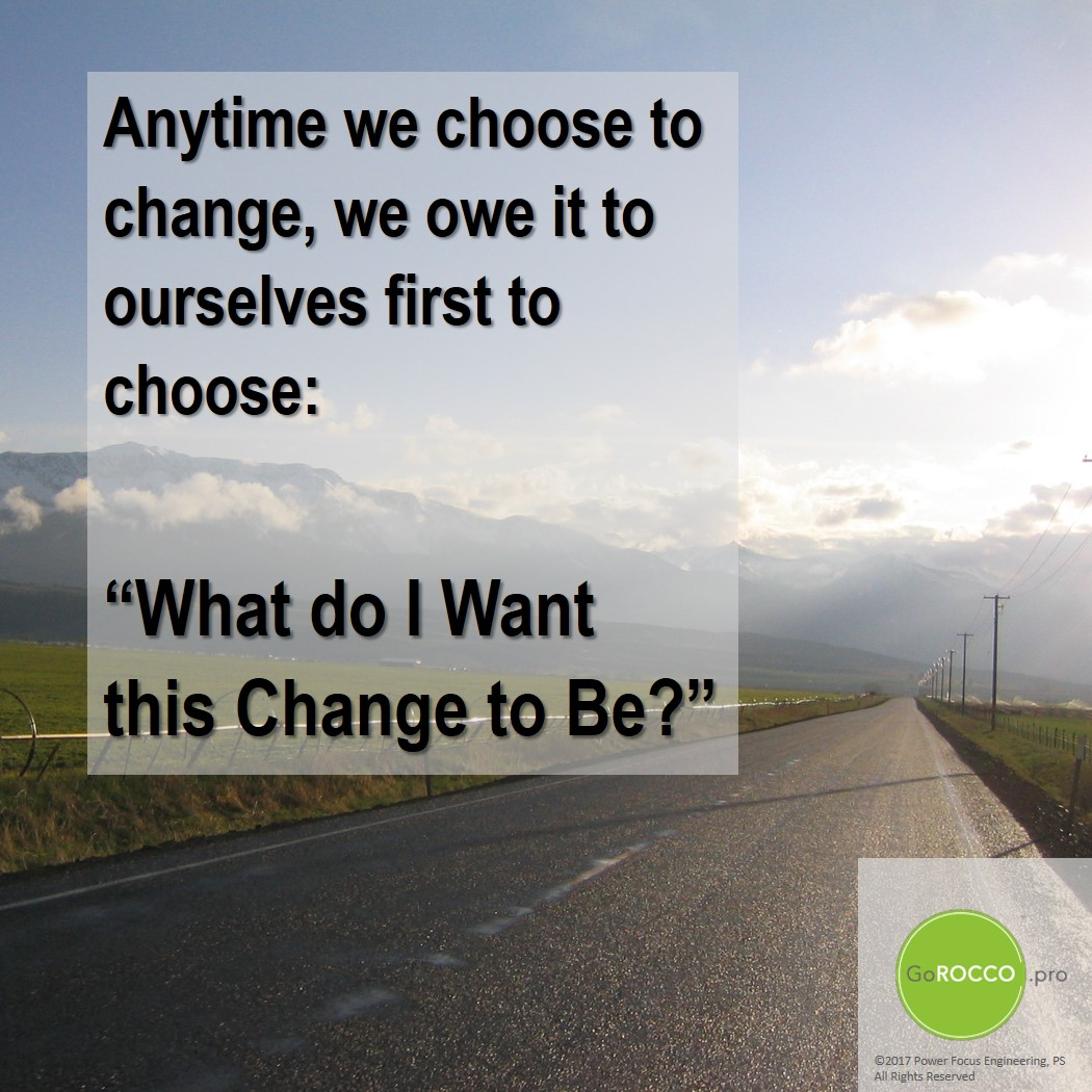 Choose Change - road r1